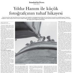 İstanbul Art News / Ocak 2013